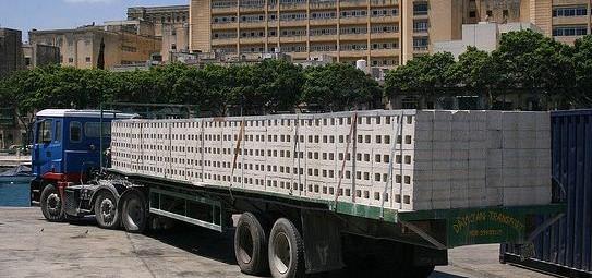 Транспортировка железобетонных изделий